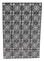 Rectangular Shaped Wrought Iron Panel - IP023