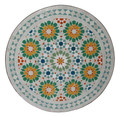 "32"" Moroccan Mosaic Tile Table Top - MTR262"