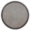 "60"" Moroccan Mosaic Tile Table Top - MTR264"