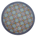 "60"" Moroccan Mosaic Tile Table Top - MTR265"