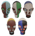 Handmade African Beaded Heads - HD212