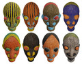 Handmade African Beaded Heads - HD214