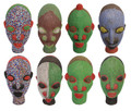 Handmade African Beaded Heads - HD216