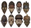 Handmade African Wooden Masks - HD224