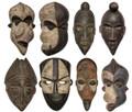 Handmade African Wooden Masks - HD225