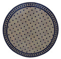 32 Inch Round Mosaic Tile Table Top - MTR270