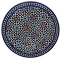 32 Inch Moroccan Mosaic Tile Table Top - MTR271