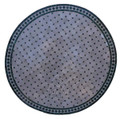 48 Inch Moroccan Mosaic Tile Table Top - MTR439