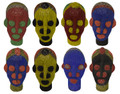 Handmade African Beaded Head Scuptures - HD237