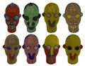 Multi-Color African Beaded Heads - HD241
