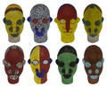 Multi-Color African Beaded Heads - HD242