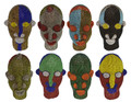 Multi-Color African Beaded Heads - HD244