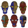 Multi-Color African Beaded Heads - HD245