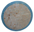 48 Inch Moroccan Mosaic Tile Table Top - MTR447