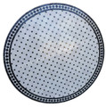 48 Inch Moroccan Mosaic Tile Table Top - MTR451