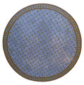 48 Inch Moroccan Mosaic Tile Table Top - MTR457