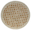 39 Inch Moroccan Mosaic Tile Table Top - MTR461