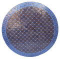 39 Inch Moroccan Mosaic Tile Table Top - MTR464
