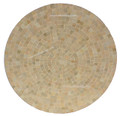 39 Inch Moroccan Mosaic Tile Table Top MTR468