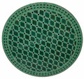 36 Inch Round Moroccan Tile Table Top - MTR228