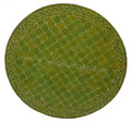 36 Inch Round Moroccan Tile Table Top - MTR279