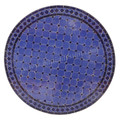 32 Inch Round Mosaic Tile Table Top - MTR285