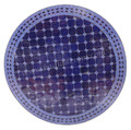 32 Inch Round Mosaic Tile Table Top - MTR286