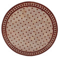 32 Inch Round Mosaic Tile Table Top - MTR287