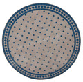 32 Inch Round Mosaic Tile Table Top - MTR290