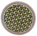 32 Inch Round Mosaic Tile Table Top - MTR239