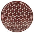 32 Inch Round Mosaic Tile Table Top - MTR293