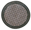 32 Inch Round Mosaic Tile Table Top - MTR300