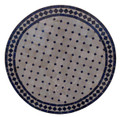 32 Inch Round Mosaic Tile Table Top - MTR302