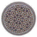 32 Inch Moroccan Mosaic Tile Table Top - MTR304
