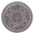 32 Inch Moroccan Mosaic Tile Table Top - MTR306