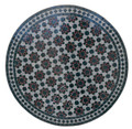 32 Inch Moroccan Mosaic Tile Table Top - MTR308