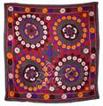 Vintage Ethnic Suzani Quilt - SUZQLT006