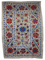Vintage Ethnic Suzani Quilt - SUZQLT009