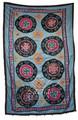 Vintage Ethnic Suzani Quilt - SUZQLT010