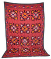 Embroidery Textile Suzani Quilt - SUZQLT012