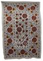 Tribal Textile Suzani Quilt - SUZQLT016