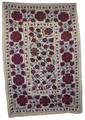 Tribal Textile Suzani Quilt - SUZQLT020