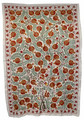 Suzani Textile Ethnic Quilt - SUZQLT023
