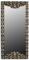 Rectangular Camel Bone-Metal-Horn Mirror M-MB008