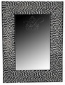 White and Black Camel Bone Mirror - M-MB074