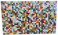 Large Multi-Color Rectangular Shaped Tile Table Top - MT703