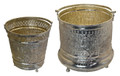 Handmade Silver Bucket - HD250