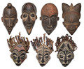 Handmade African Wooden Masks - HD252