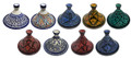 Medium Multi Color Ceramic Tajines - TJ017