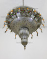 Multiple Color Glass with Tassels Chandelier CH010